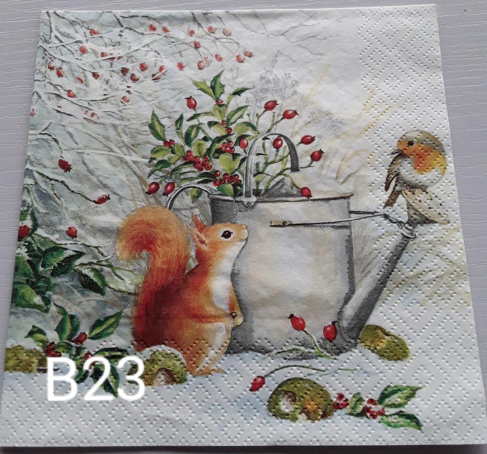B23 - Garden Scene
