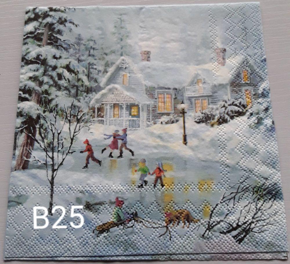 B25 - Village Scene