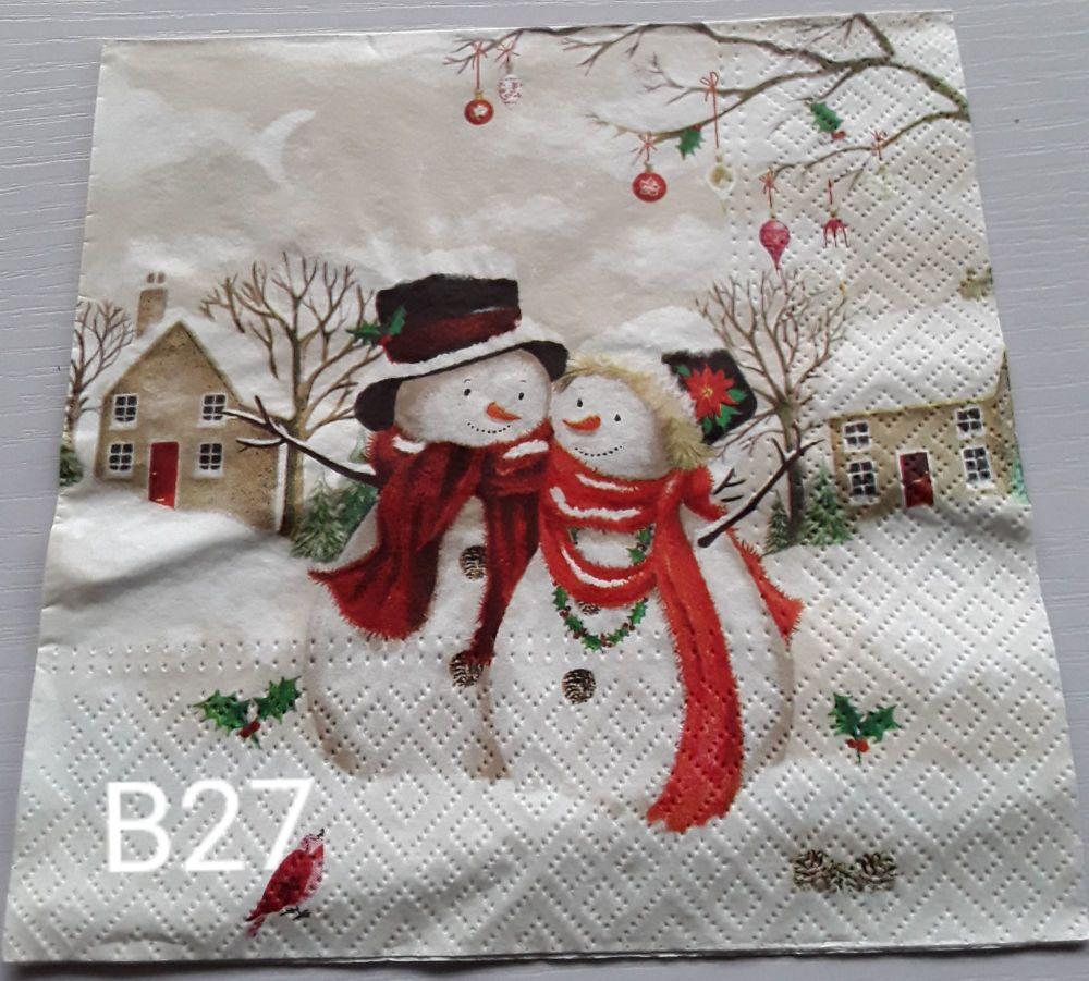 B27 - Snowmen