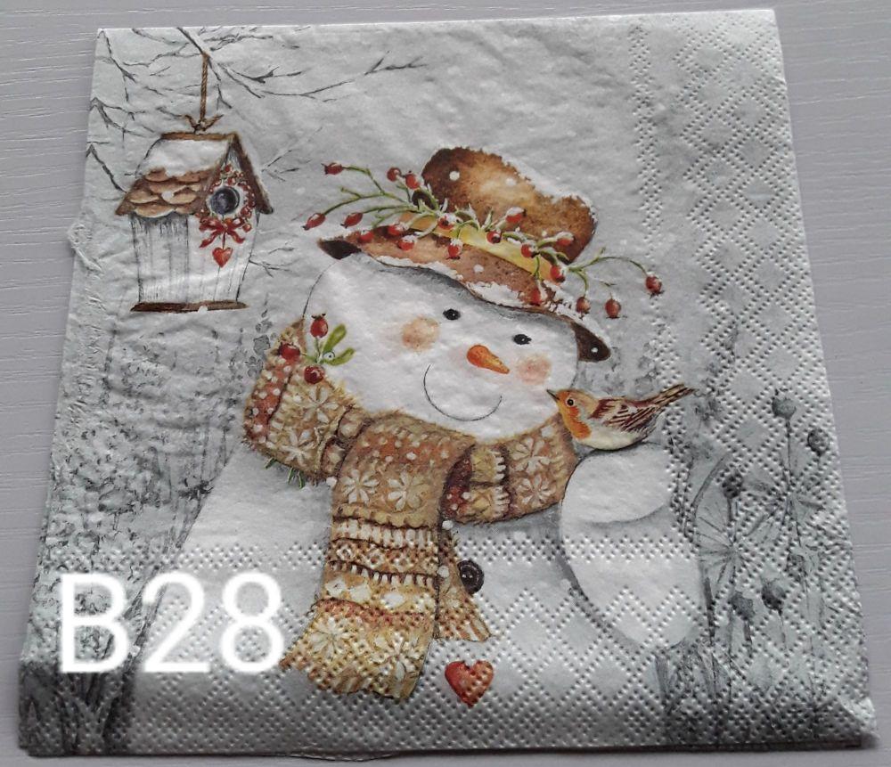 B28 - Snowmen