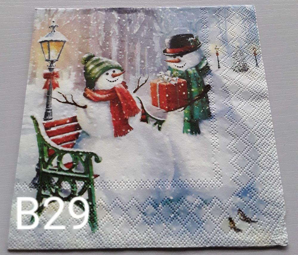 B29 - Snowmen