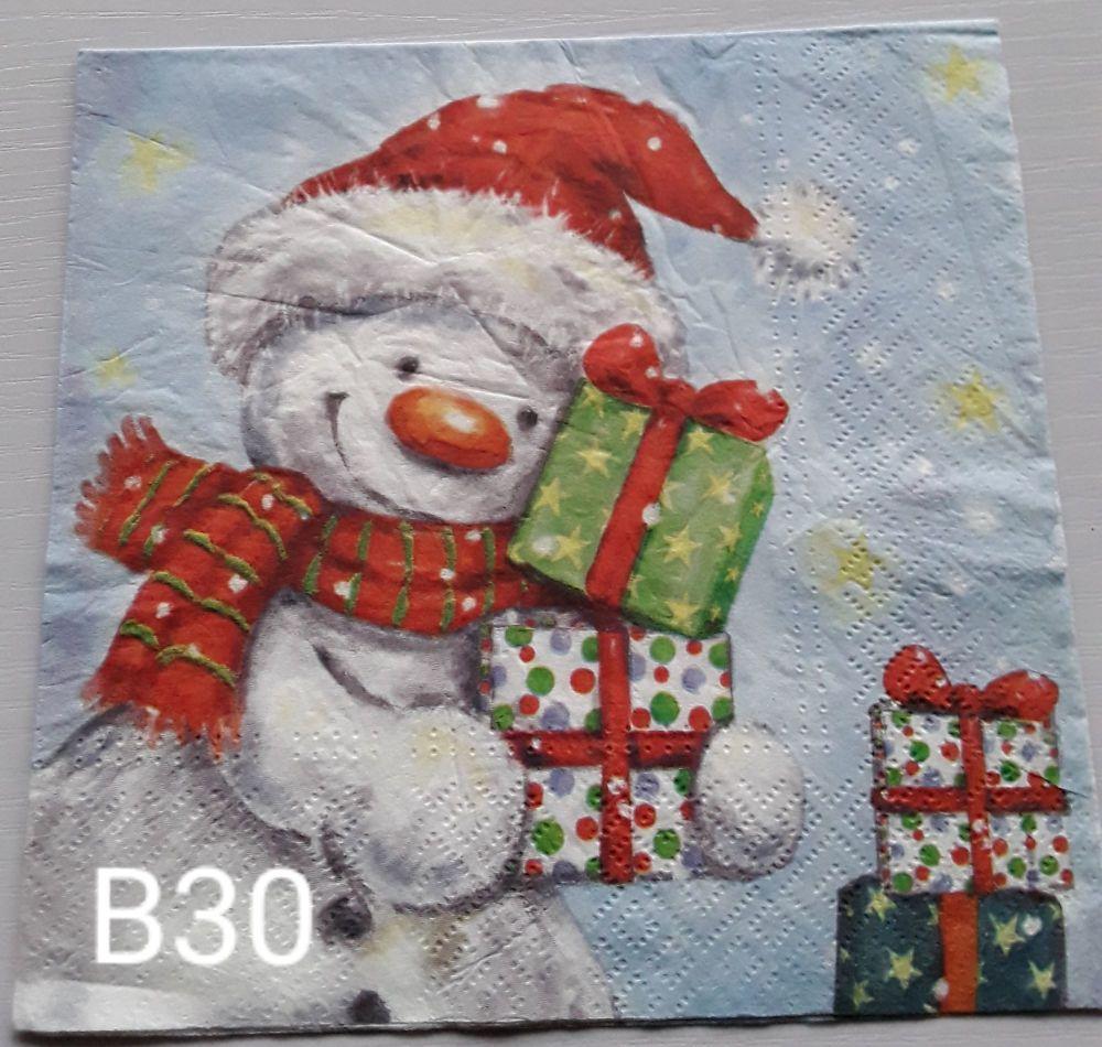 B30 - Snowmen