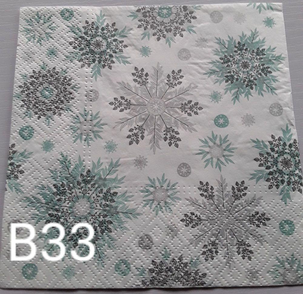 B33 - Snowflakes