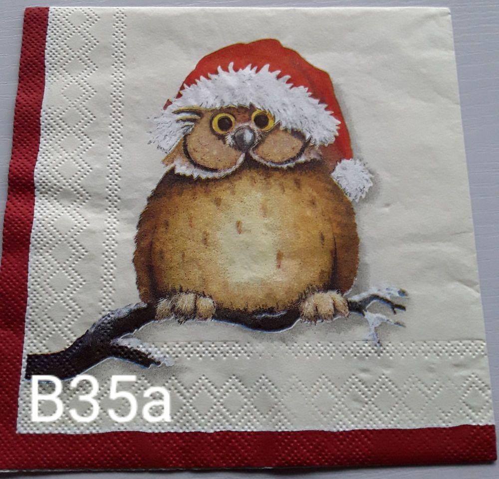 B34a - Cute Owl