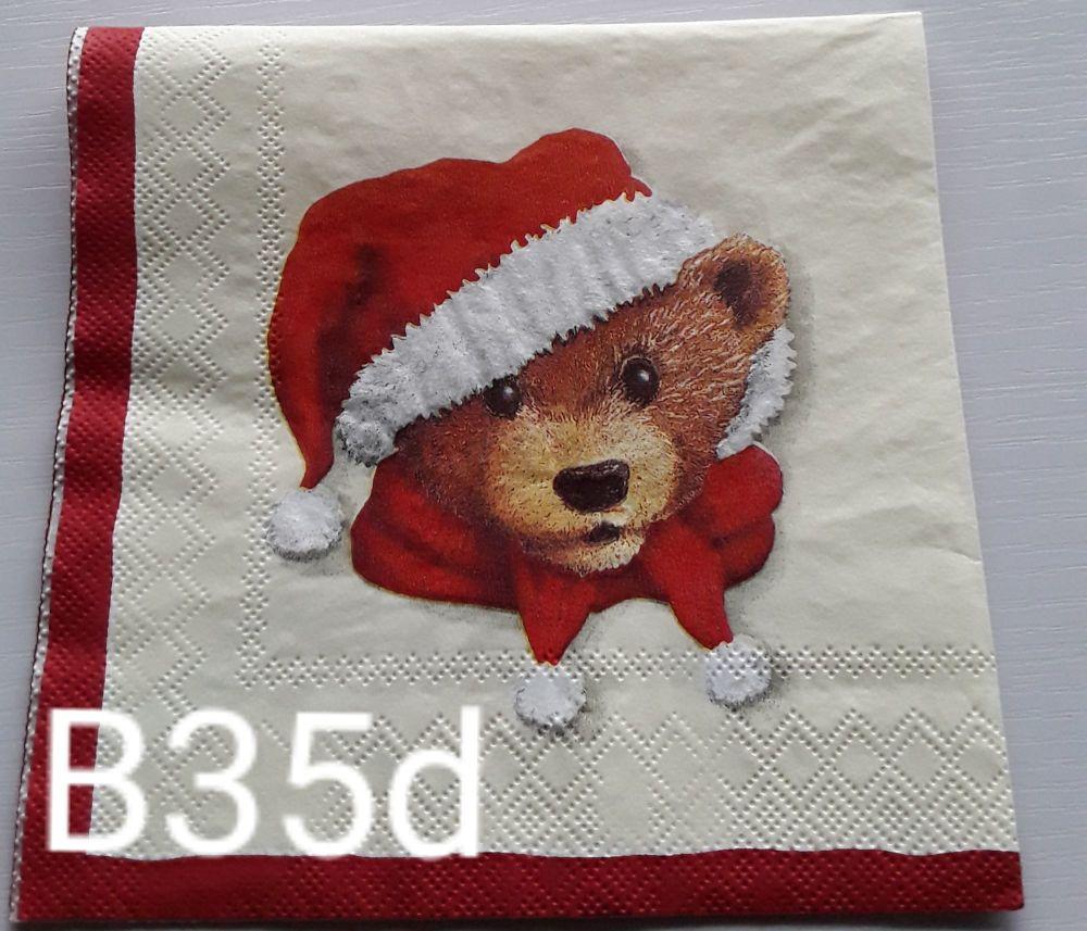 B35d- Cute Bear