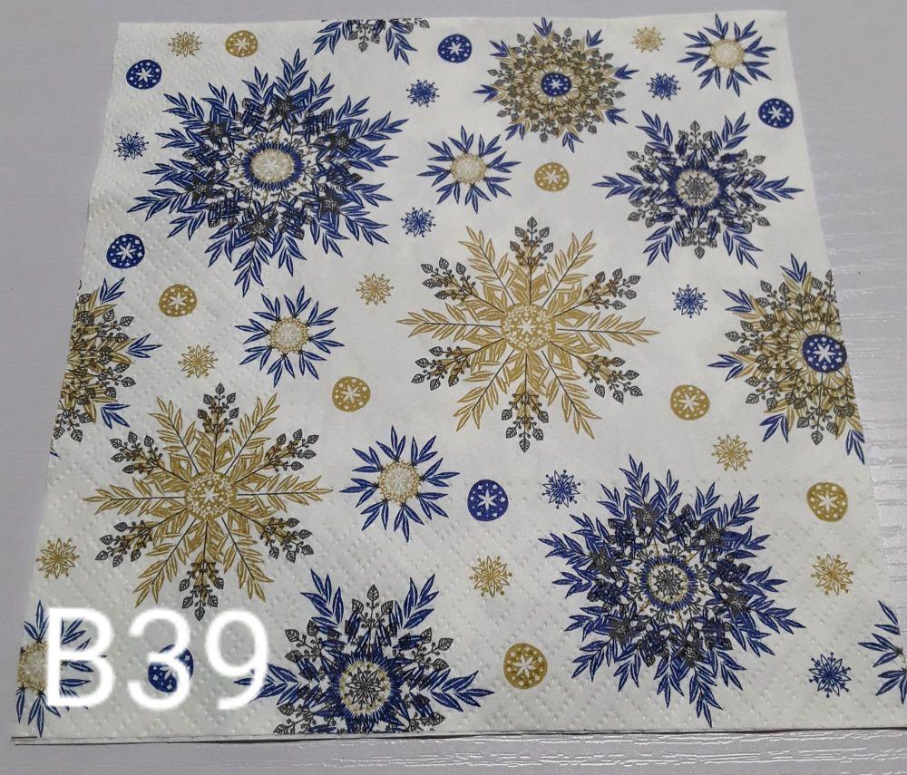 B39 - Snowflakes