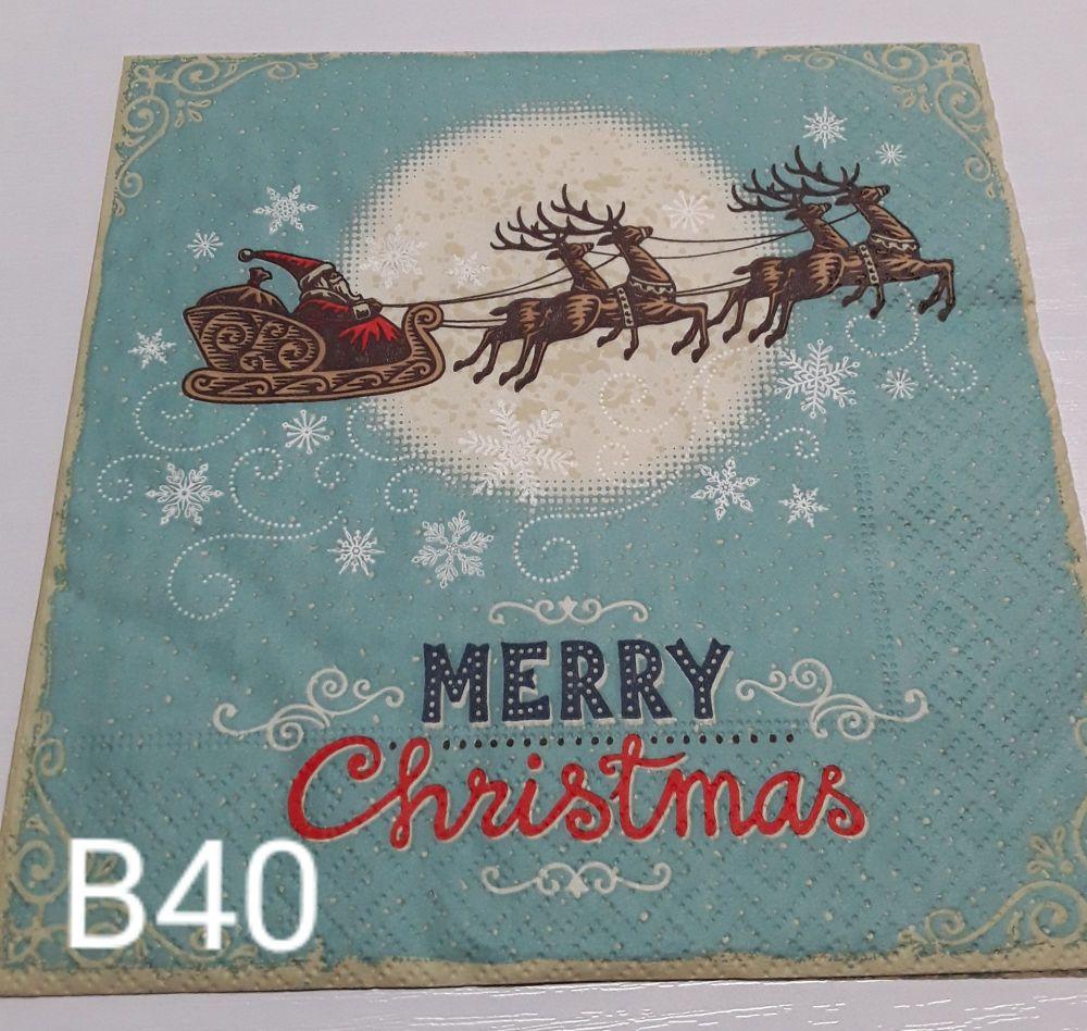 B40 - Merry Christmas