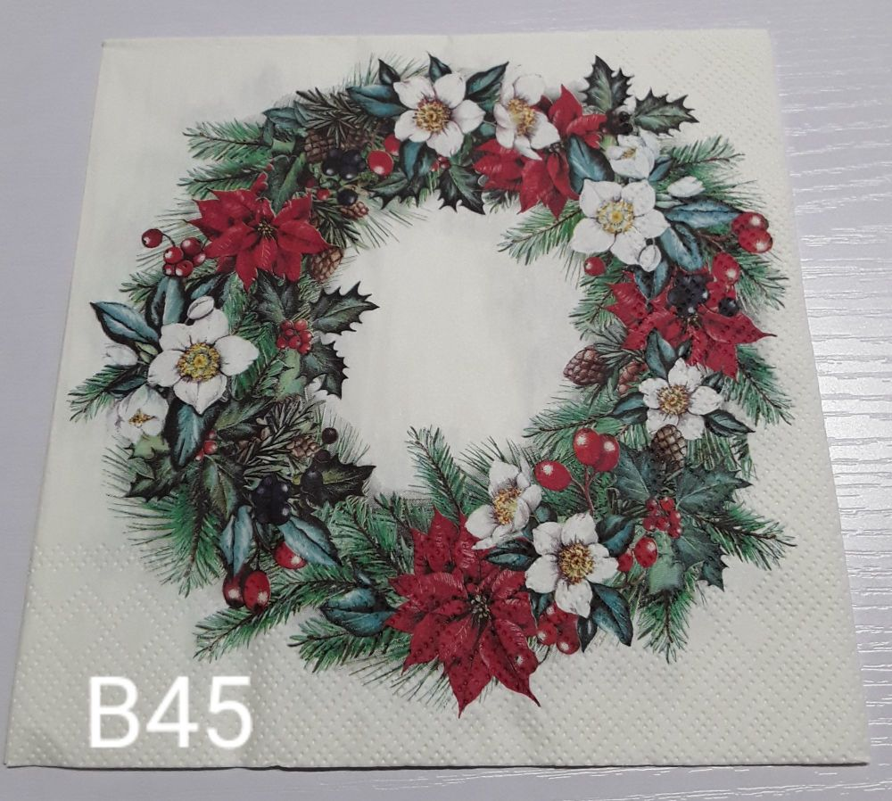 B45 - Christmas Wreath