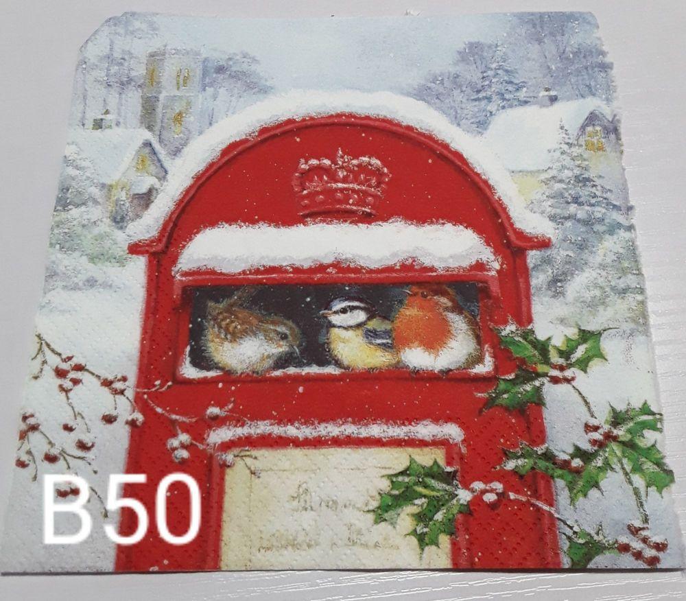 B50 - Postbox