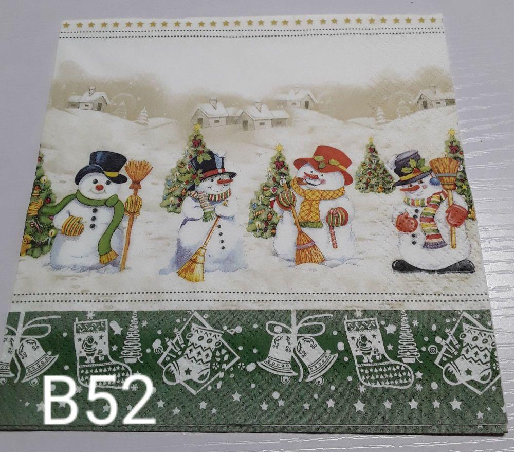 B52 - Snowmen