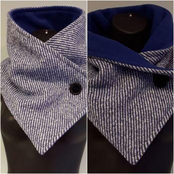 Royal Blue Woollen Neck Warmer