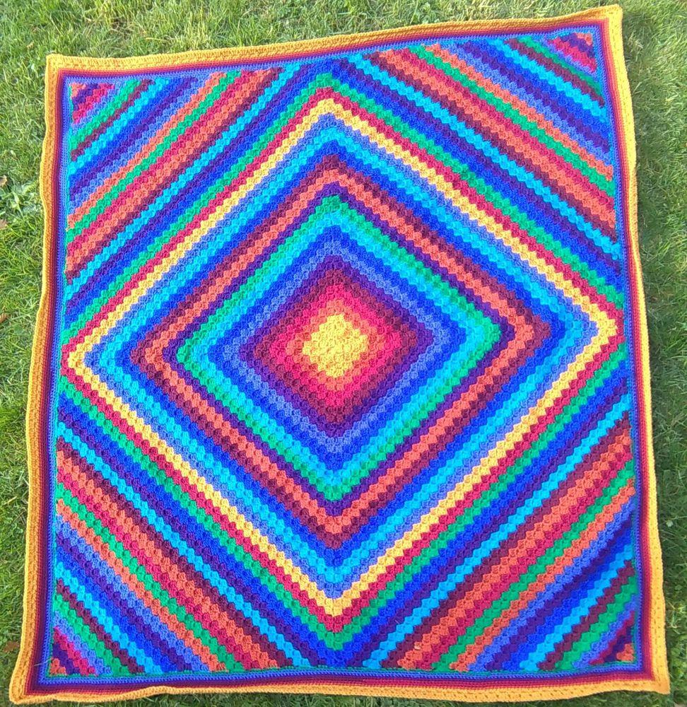 Jewel Corner to Corner Blanket Pattern