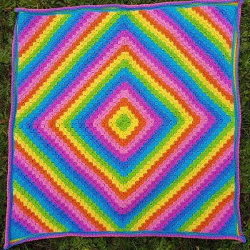 Candy C2C Blanket Pattern