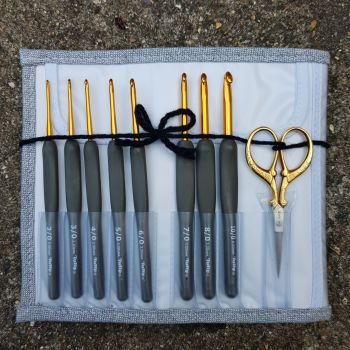 Tulip Etimo Grey Crochet Hook Set