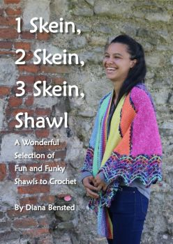 1 Skein, 2 Skein, 3 Skein Shawl Hard Back Book
