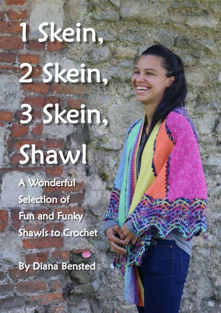 1 Skein, 2 Skein, 3 Skein Shawl Hard Back Book