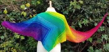 Zennor Quoit Shawl Pattern