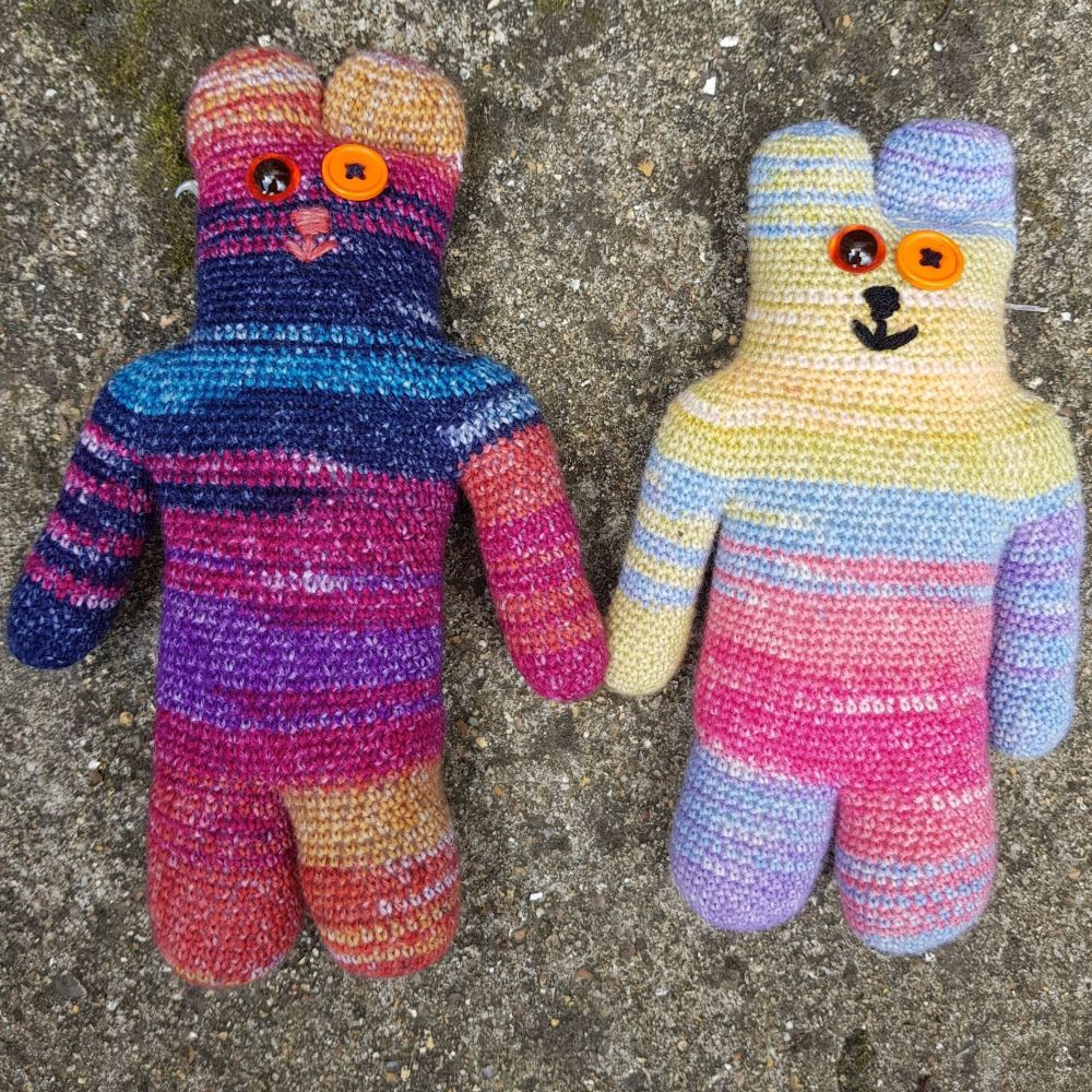 Tiberius Teddy Crochet Pattern