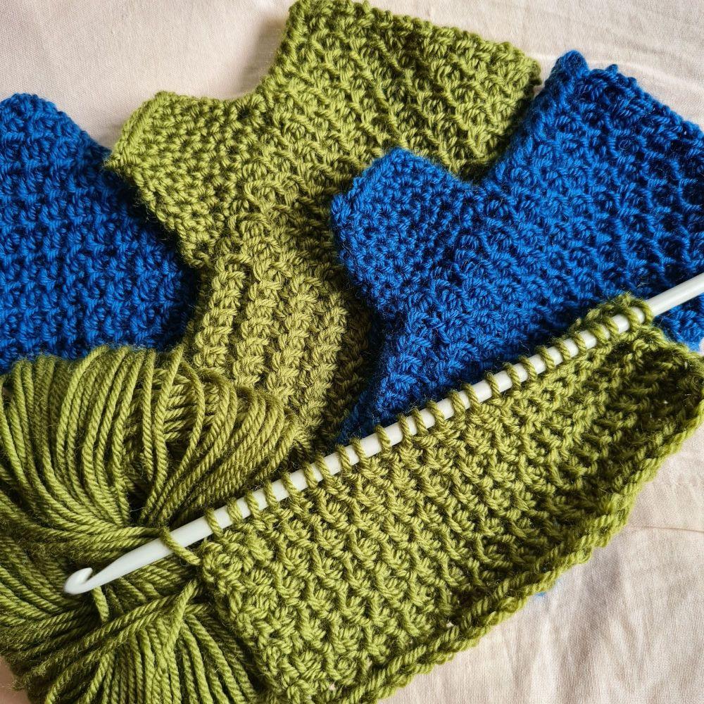 Tunisian Crochet Kit