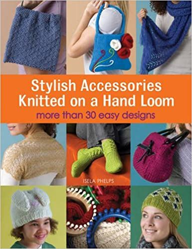 Stylish Accessories Knitted on a Hand Loom by Isela Phelps was £10.99
