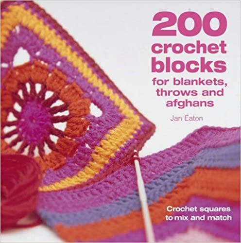200 Crochet blocks by jan Eaton was £12.99
