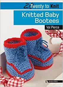 20 to make - Knitted Baby Bootees by Val Pierce was £4.99