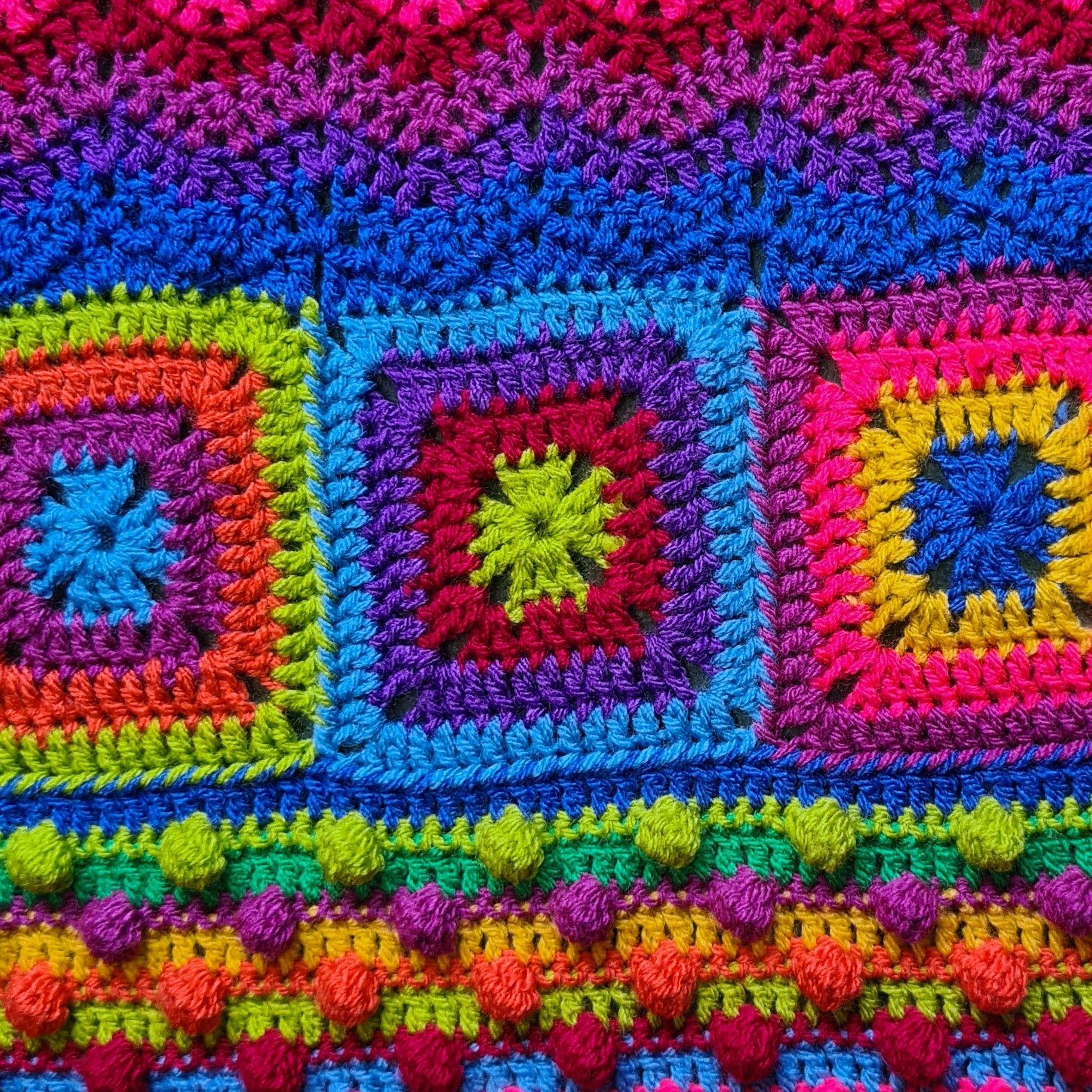 Diana Bensted - Crochet masterclass 4 Bobbles - 5 Babbette - 6 ripple