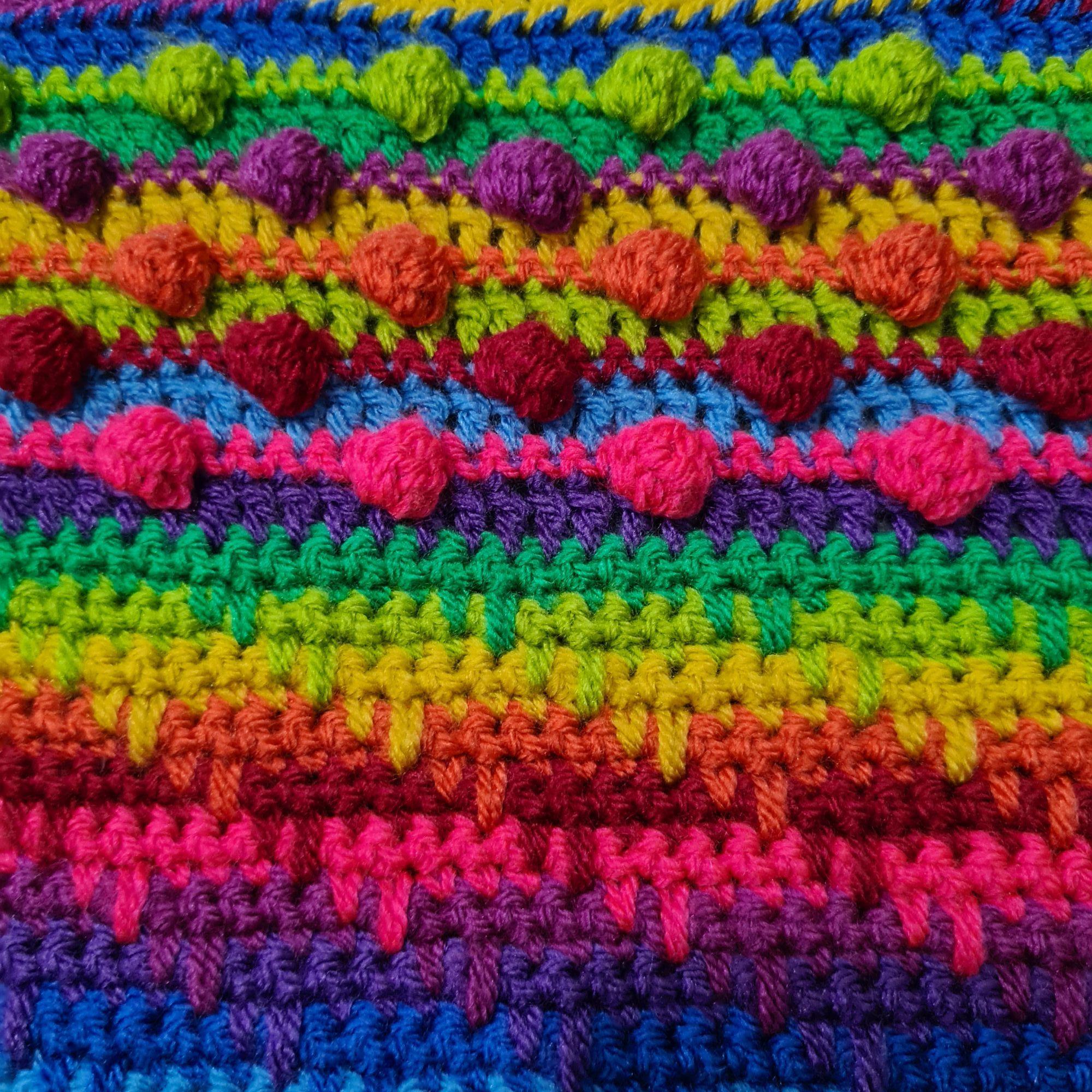 Diana Bensted - Crochet masterclass 3 Spike - 4 Bobbles