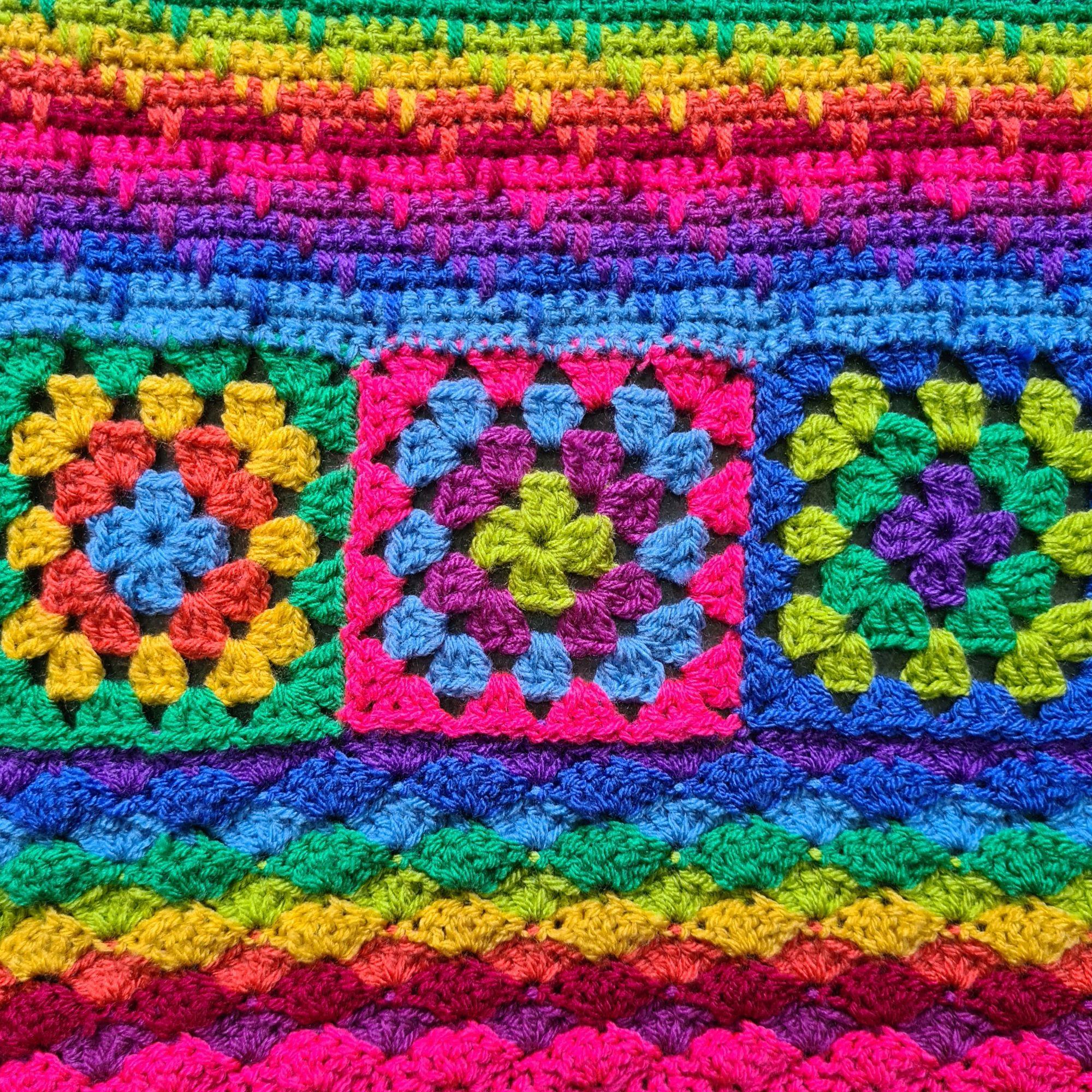 Diana Bensted - Crochet masterclass 1-shells - 2 granny - 3 Spike