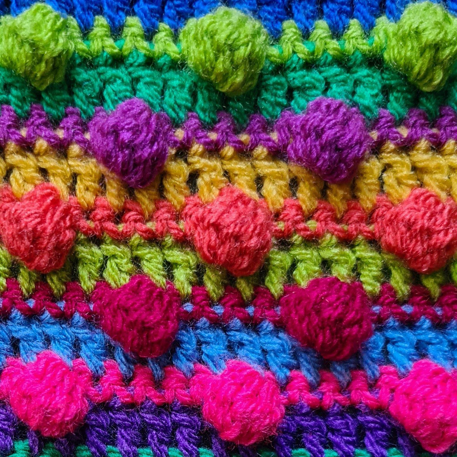 Diana Bensted - Crochet masterclass 4 Bobbles
