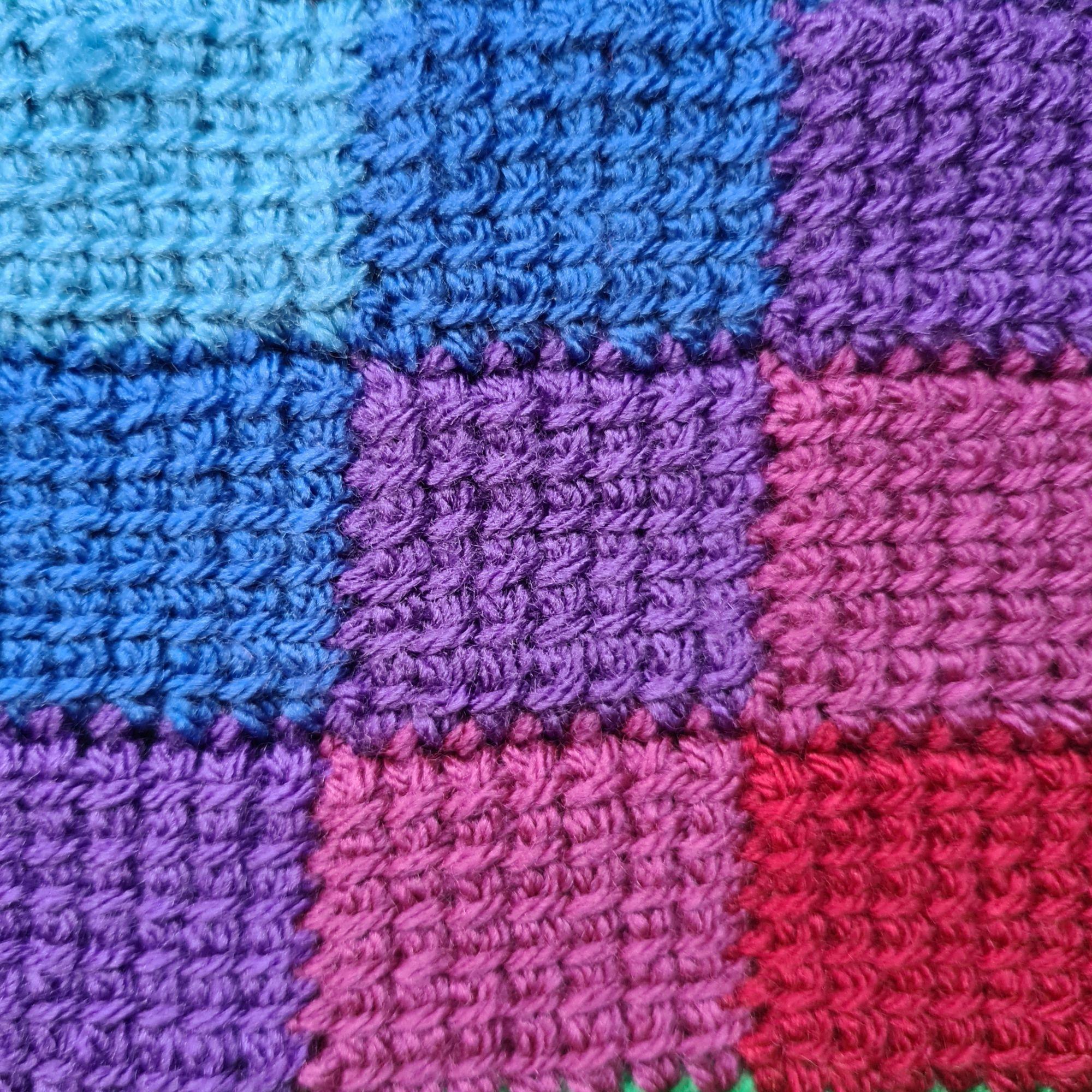 Diana Bensted - Crochet masterclass 9 Tunisian entrelac