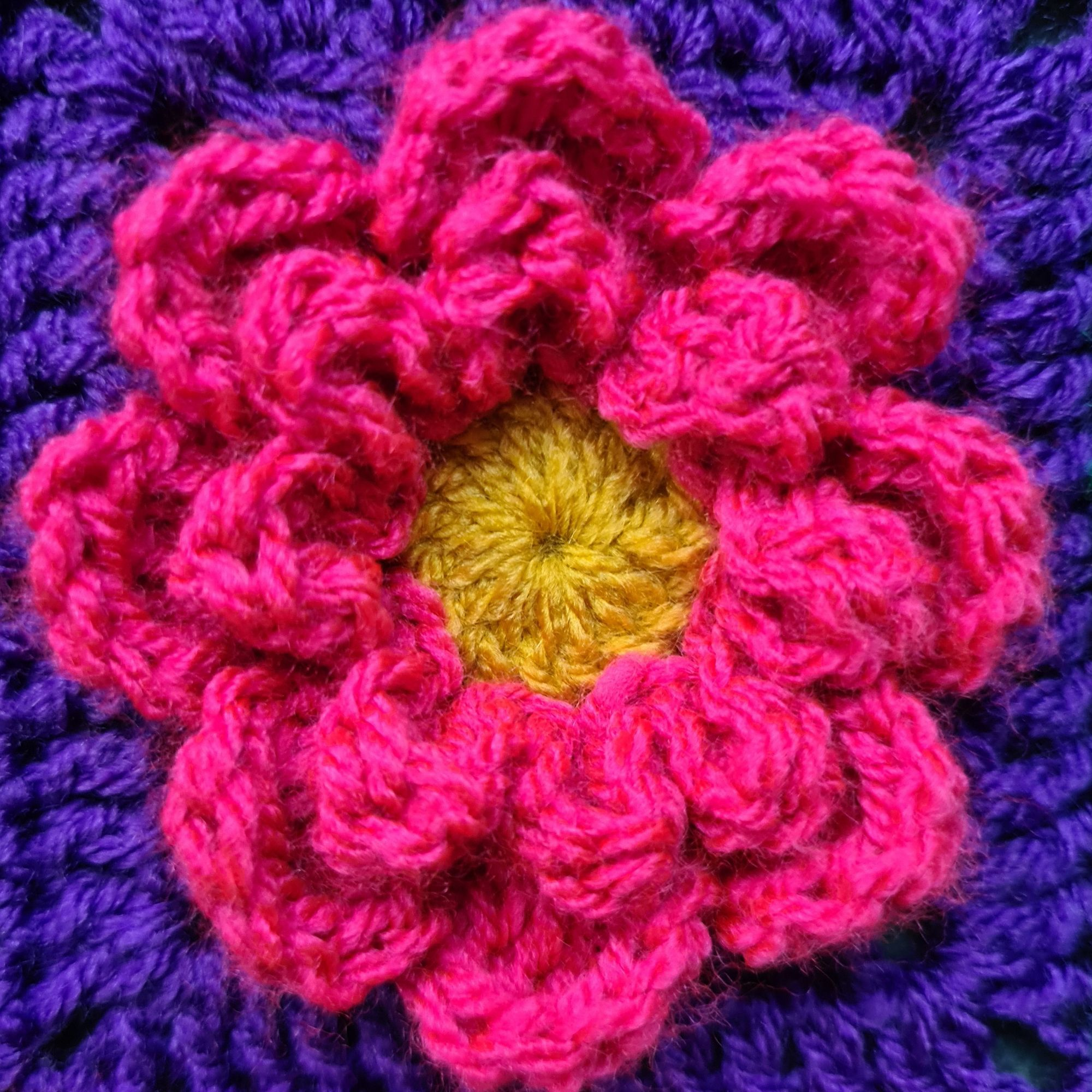 Diana Bensted - Crochet masterclass 8 Flower