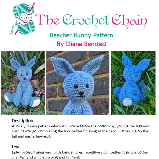 Beecher Bunny Digital Pattern