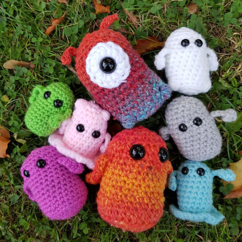 Amigurumi Mini Monster Crochet Kit