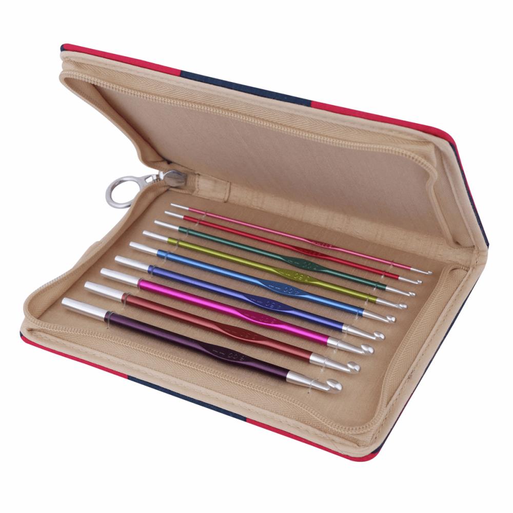 KnitPro Zing Aluminium Crochet Hook Set