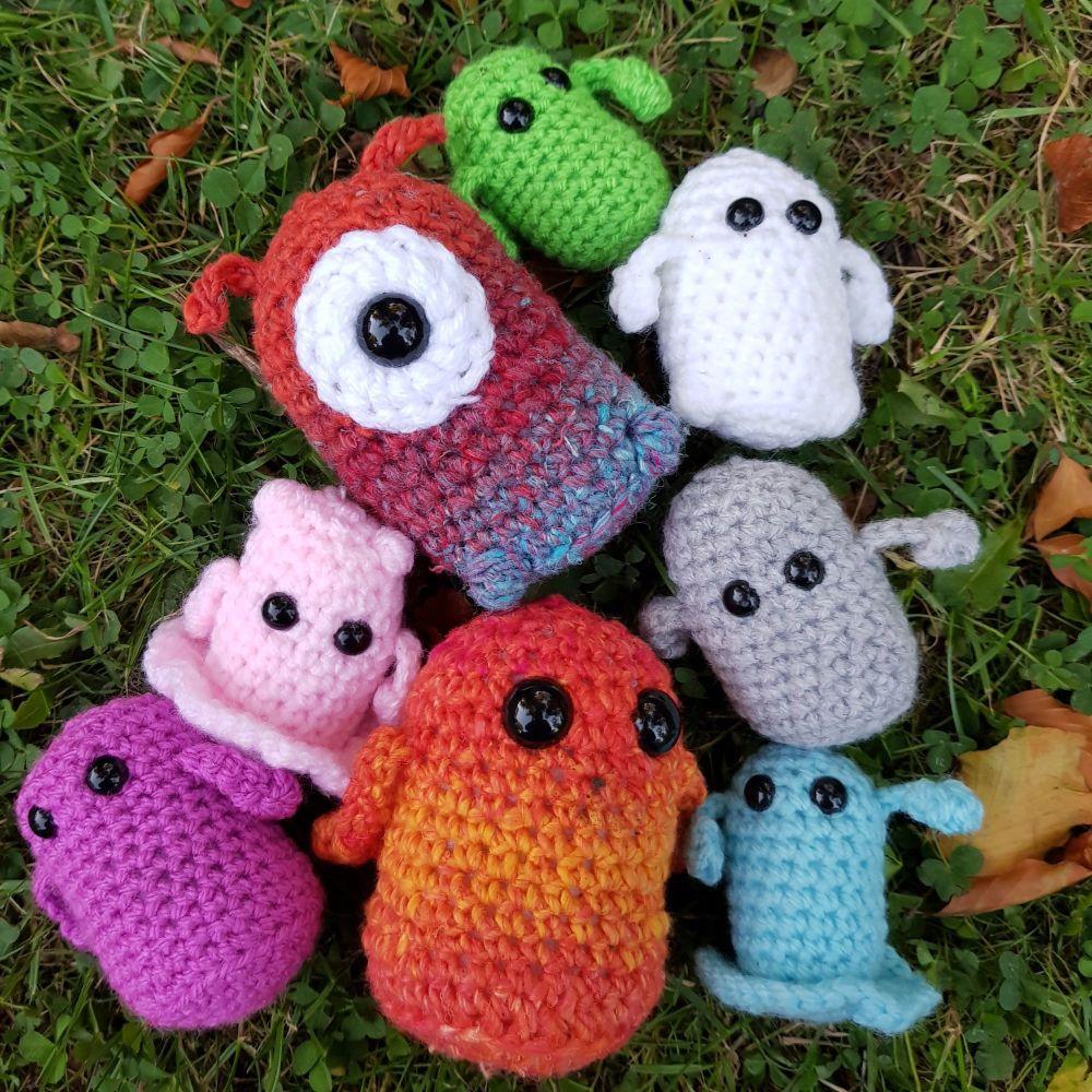 Mini Monster Amigurumi Pattern
