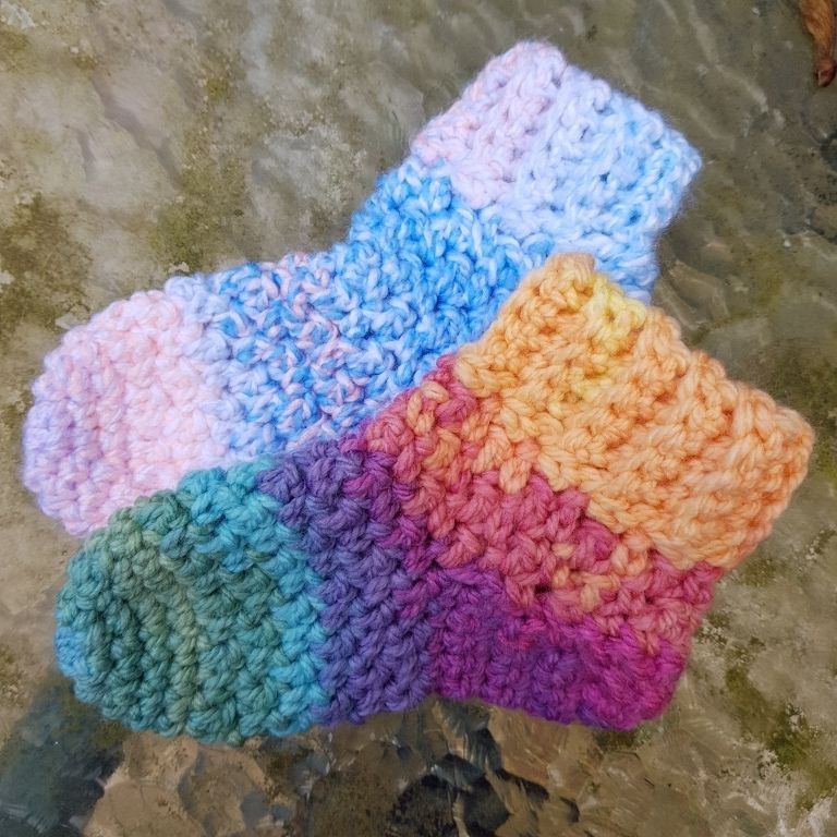 Diana Bensted Crochet Sock