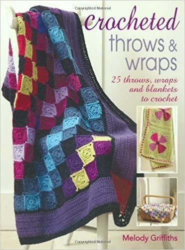 Crocheted throws & wraps by Melody Griffiths was £12.99