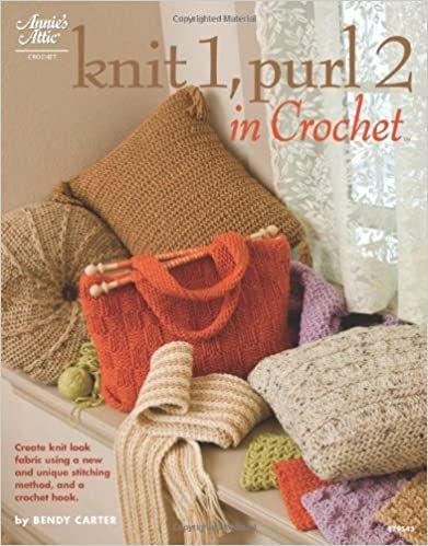 Knit 1, Purl 2 in Crochet by Bendy Carter was £11.99