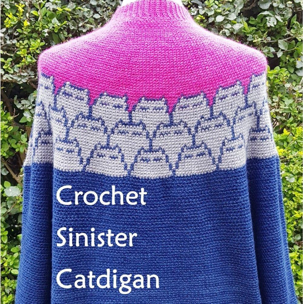 Crochet Sinister Catdigan