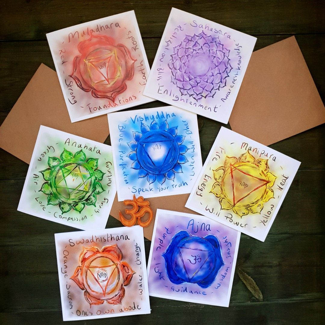Chakra Card Bundle