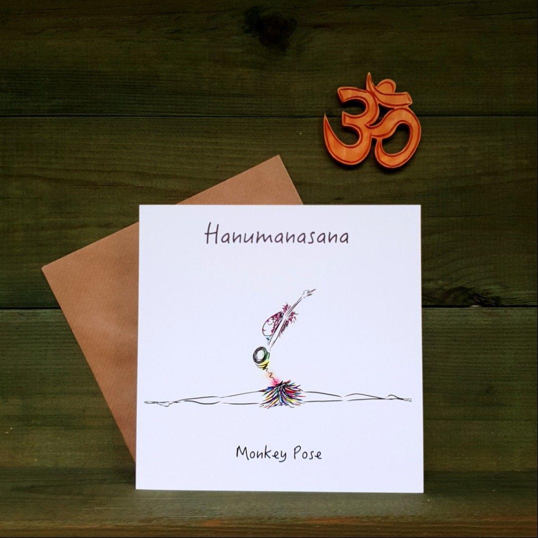 Hanumanasana - Monkey Pose