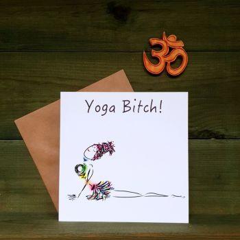 Urdhva Mukha Svanasana - Yoga Bitch!