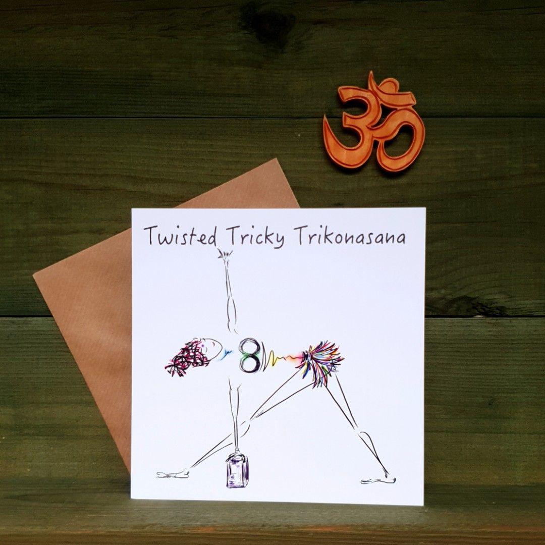 Twisted Tricky Trikonasana