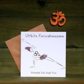 Utthita Parsvakonasana - Extended Side Angle Pose