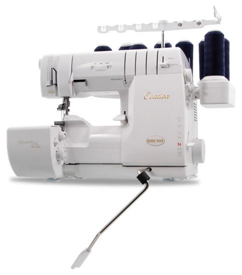 baby lock Ovation combination overlocker and cover stitch machine