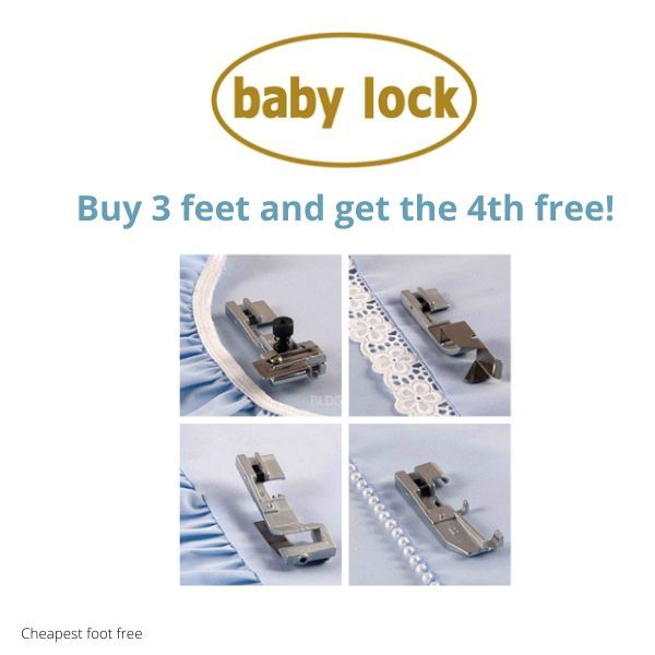 baby lock accessories special offer buy 3 get the 4th free