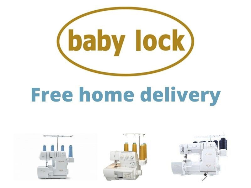 free home delivery on baby lock machines
