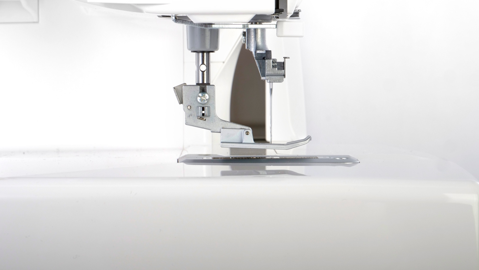 Baby lock Euphoria cover stitch machine higher presser lever height for thicker fabrics and projects