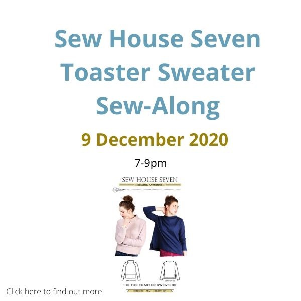 Sew House Severn Toaster Sweater Sew Along